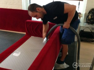 deep sofa cleaning in london