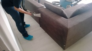 detailed sofa cleaning
