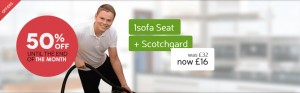 1 sofa seat cleaning deal