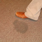 how to clean oil stains