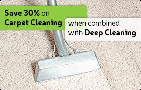 deep carpet cleaning deal