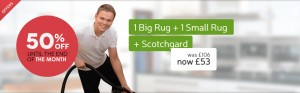 big and small rug deal