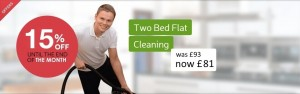 2 bed flat cleaning