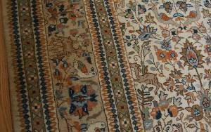 how to clean carpet edges
