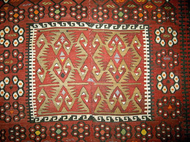 clean kilim carpet